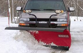 Heavy-Duty Full-Trip Steel Conventional Snowplow Image 1