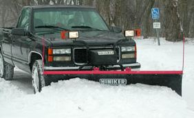 Mid-Size Full-Trip Poly Snowplow Hiniker 700 Series Image 1
