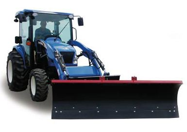 Big OX LOADER SNOWPLOW Image 1