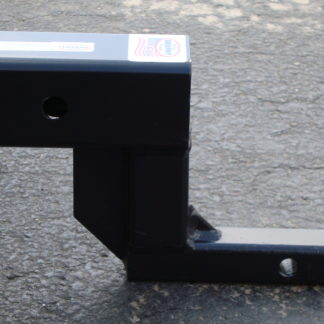 """1 1/4""""- 2"""" Hitch Adapter with 5"""" Rise Image 1"""