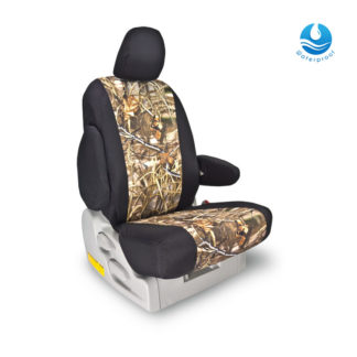 Front Seat Cover - 14-C Chevy Camo/Black Image 1
