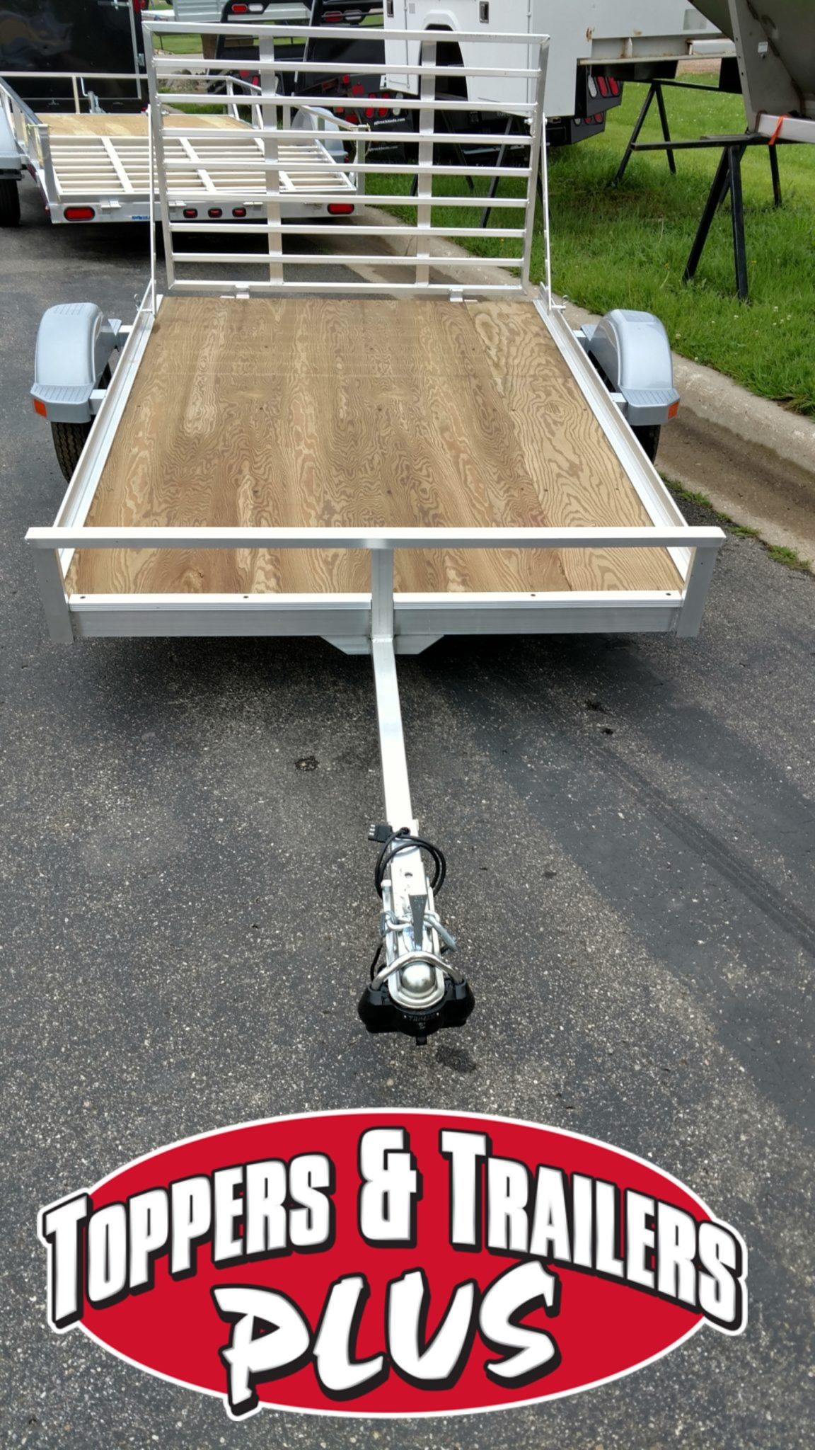 Eagle 5 X 8 Aluminum Trailer Toppers And Trailers Plus As Well Boat For Sale On Wiring Call Our Sales Deprartment 507 387 7376