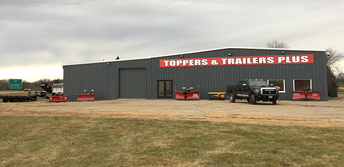 Toppers & Trailers Plus - Le Sueur Location