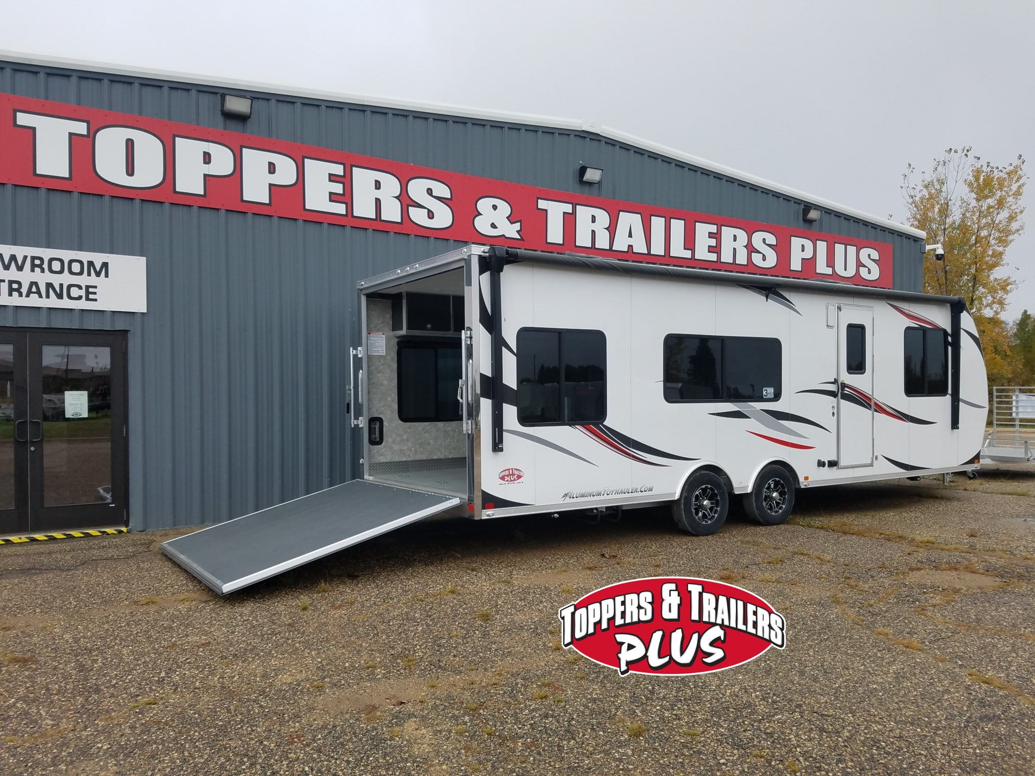Toppers Trailers Plus New Used Truck Topper Snow Plows Trailer Mounted Electric Brake Controller Wiring Service Specials