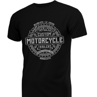 Toppers & Trailers Plus-American-Motorcycle-T-Shirt