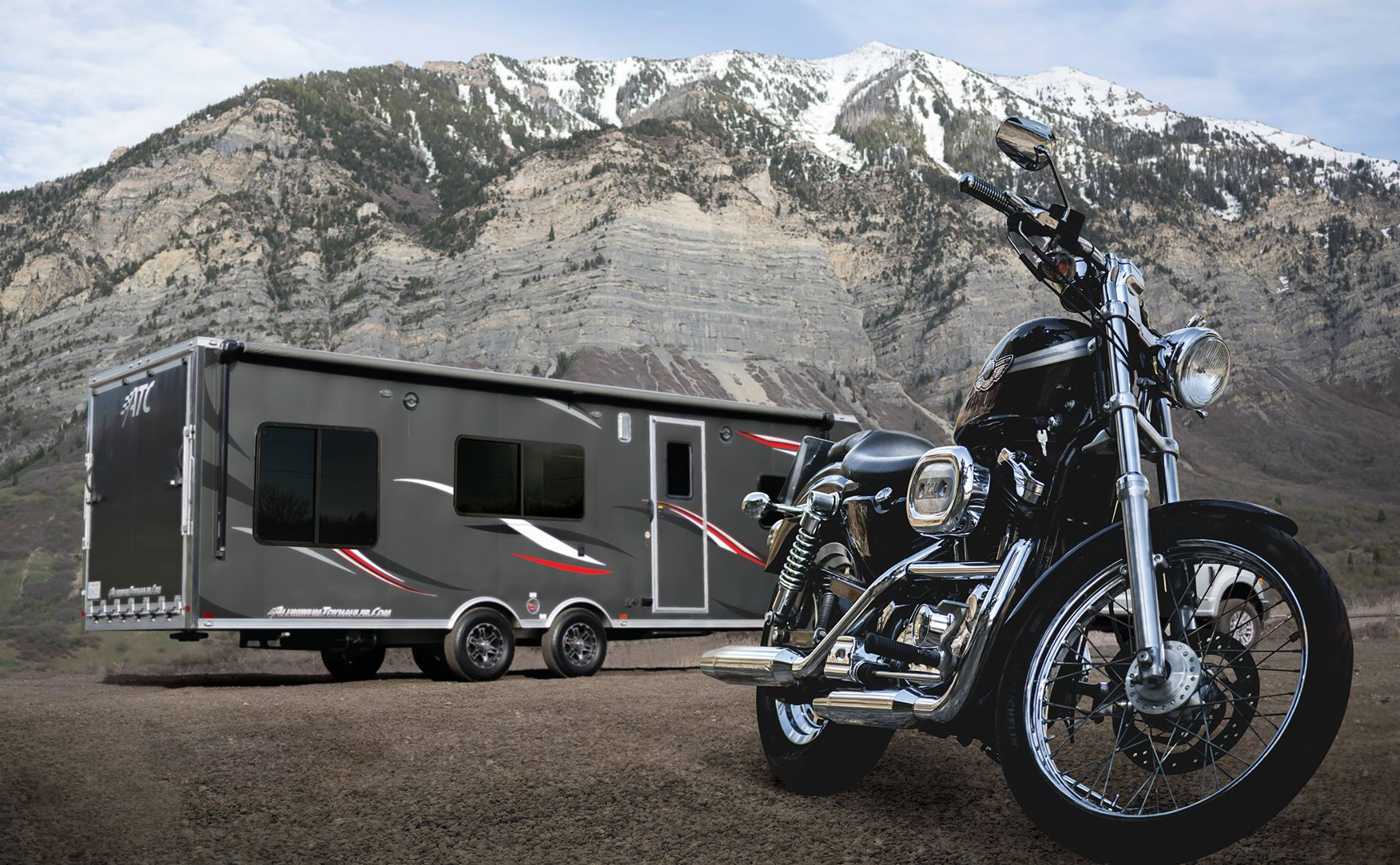 Toppers & Trailers Plus at MSP Motorcycle Show