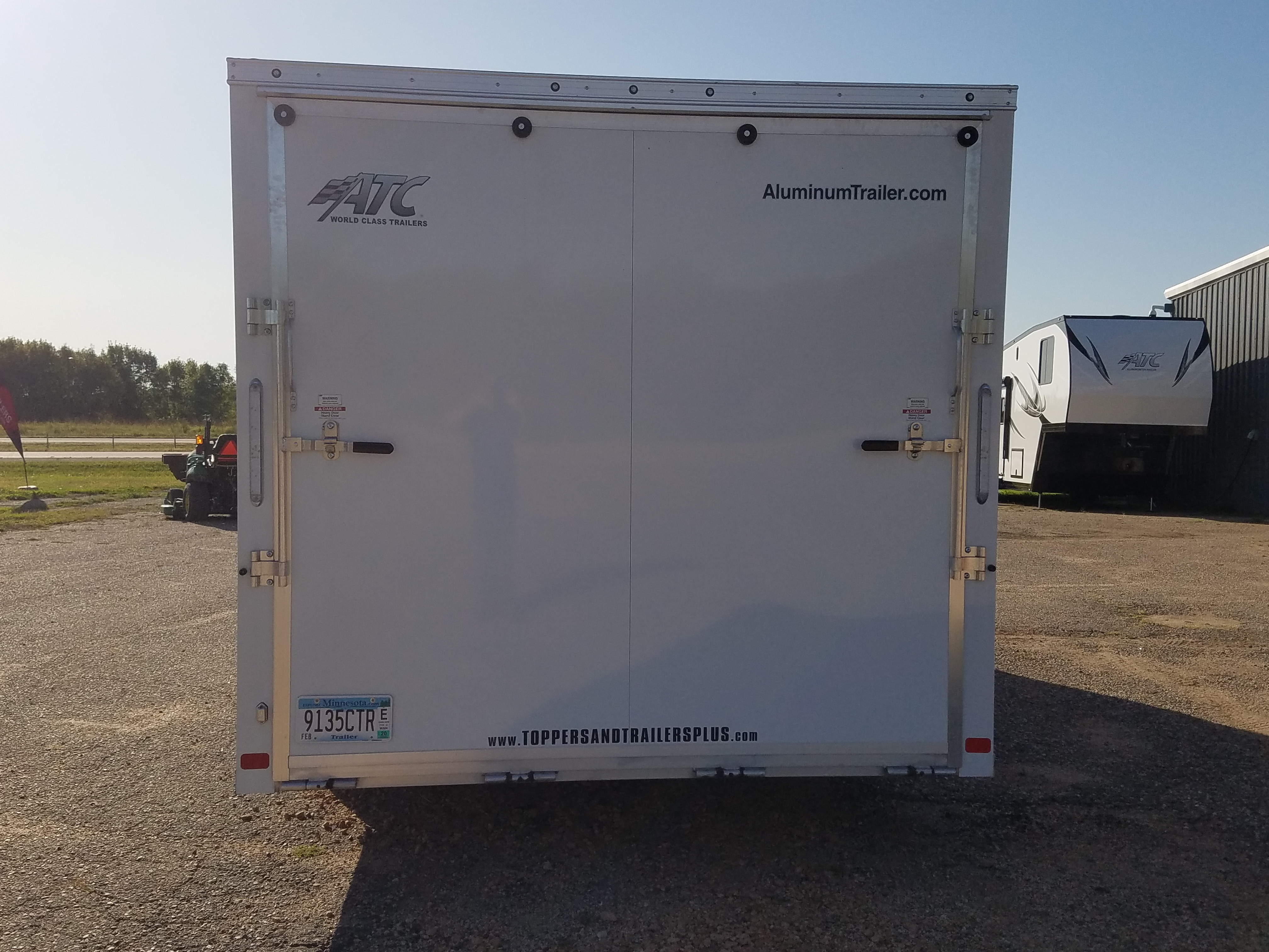 Atc Raven 8 5 215 20 2 Rental Trailer Toppers And Trailers Plus