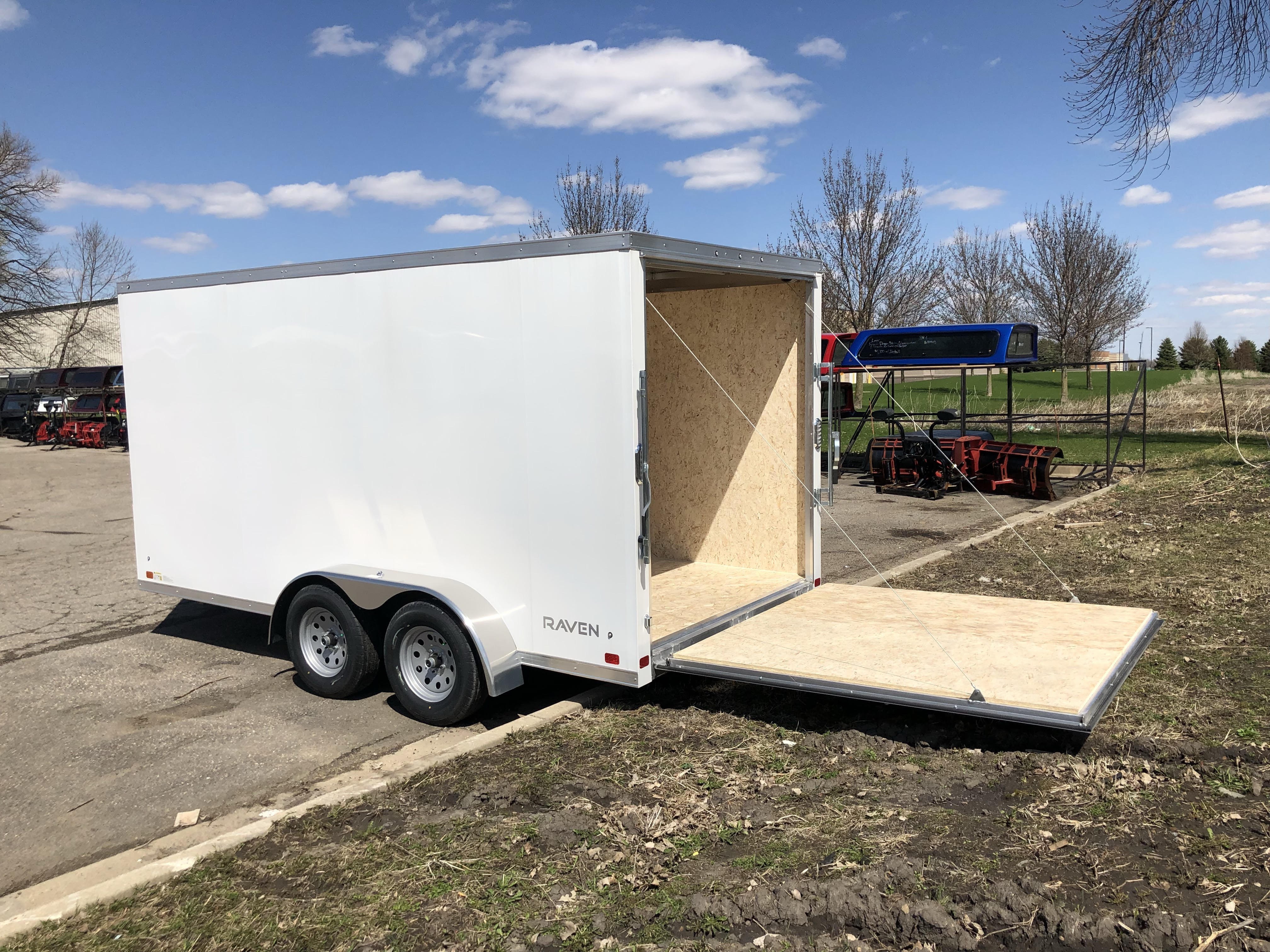 Atc Cargo 7x14 2 Toppers And Trailers Plus