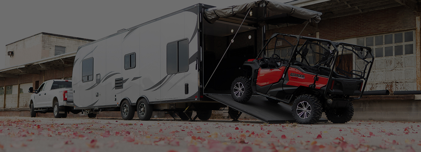 2019 ATC Toy Hauler Dealer Toppers & Trailers Plus